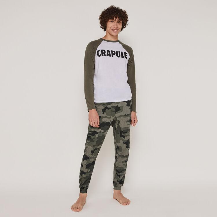 Set de pijama de manga larga lesmochiz;