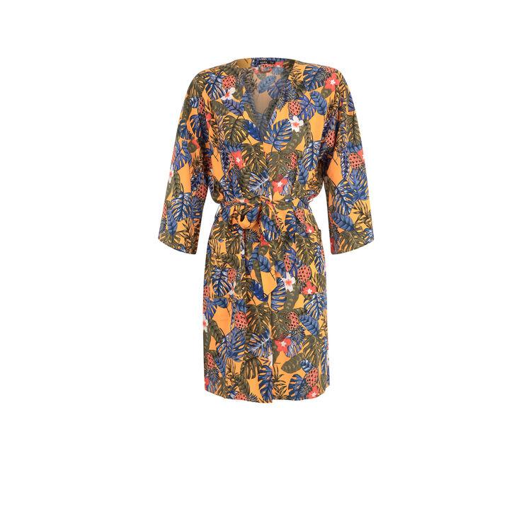 Kimono naranja casablankiz;