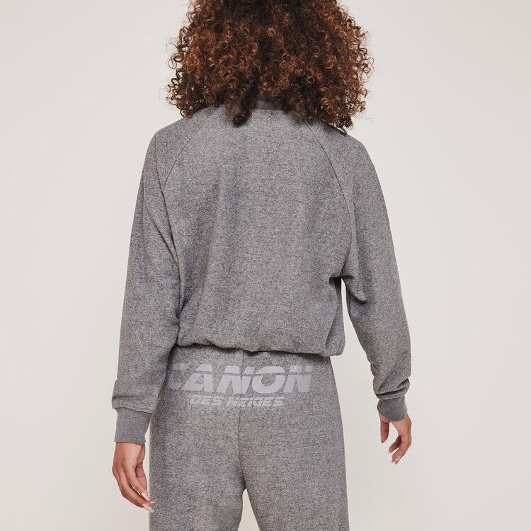Pantalón de chándal de felpa reflector canondesneigiz;
