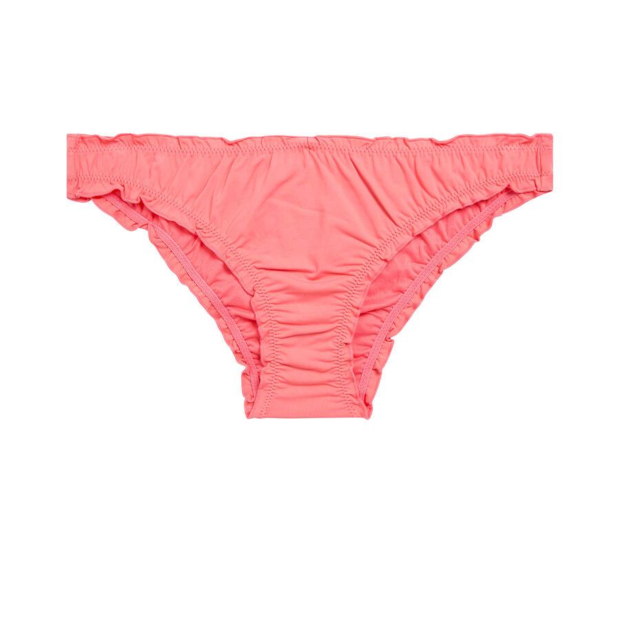 Parte de abajo de bikini rosa claro froufrouiz;${refinementColor}