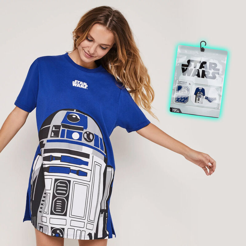 Set de túnica + braguita culotte estampada Star Wars stardiz;