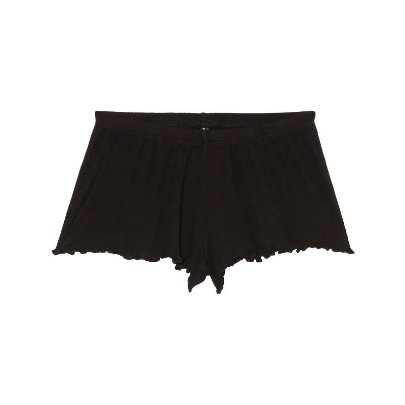 shorts cortos - negro;