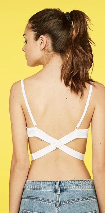 Tira blanca para espaldas escotadas strapiz  white.