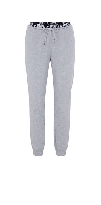 Pantalón gris powerniz grey.