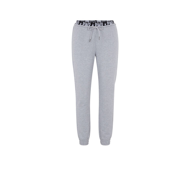 Pantalón gris powerniz;
