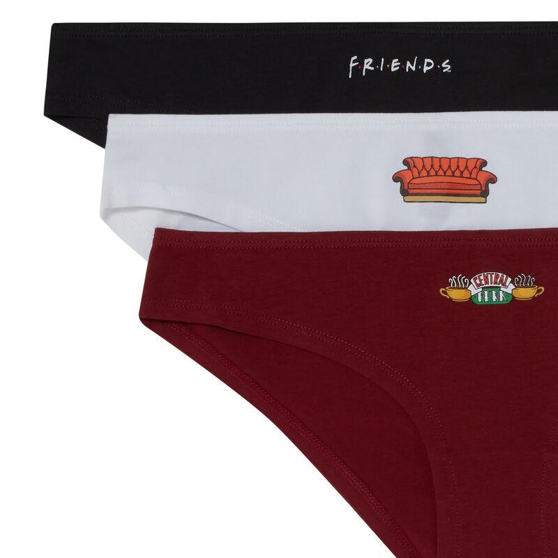 juego de 3 braguitas Friends - morado;