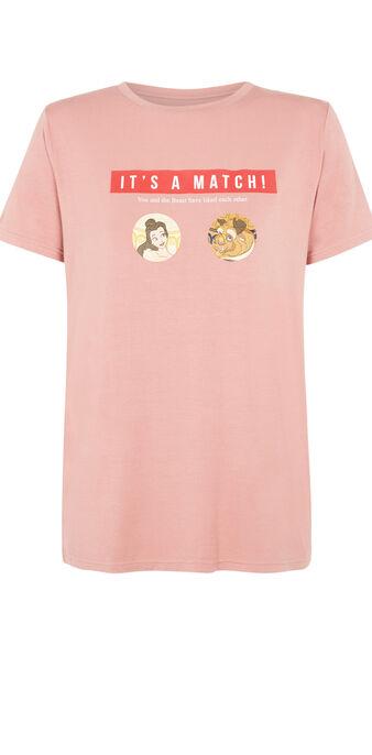 Camiseta rosa viejo itsmatchiz pink.