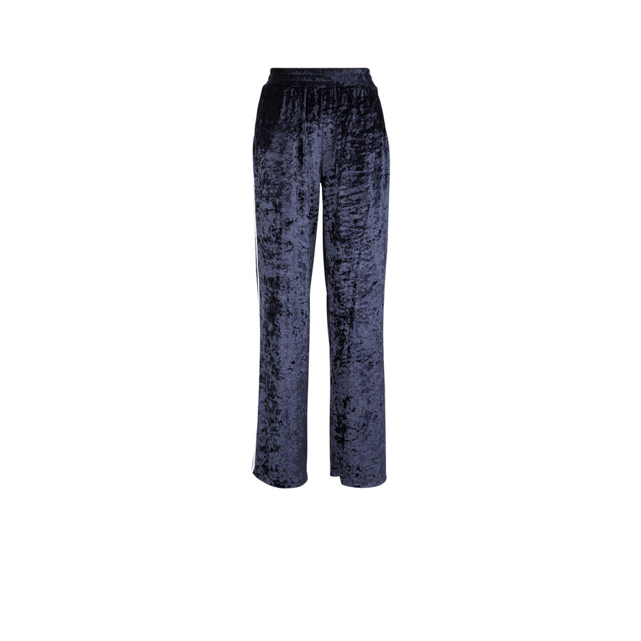 Pantalón azul velvissiz;
