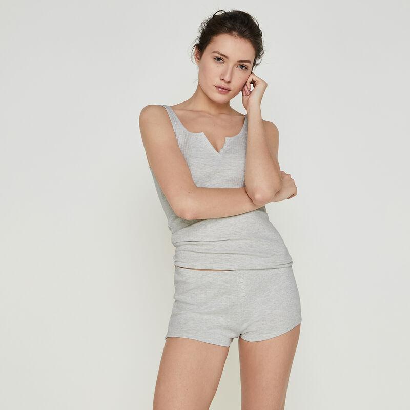 Shorts en gris claro newdebidiz;