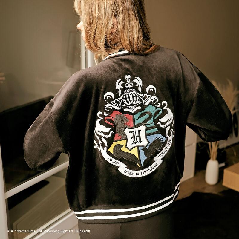 chaqueta con emblema Harry Potter - negro;