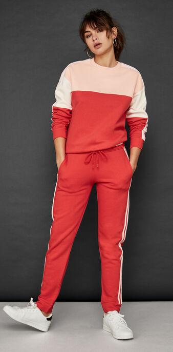 Pantalón rojo quartiz red.