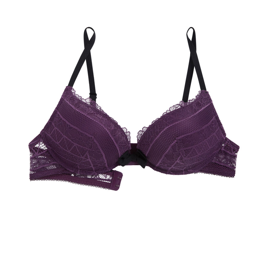 Sujetador ultra push-up violeta pommiz;${refinementColor}