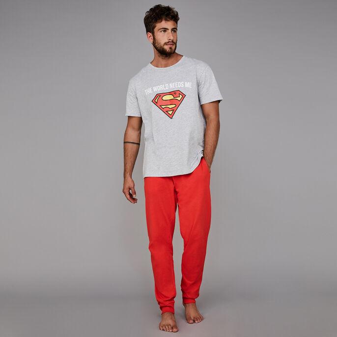 Conjunto de pijama gris para hombre needsiz grey.
