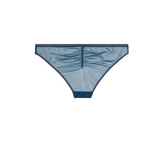 Braguita clásica embroderiz azul blue.