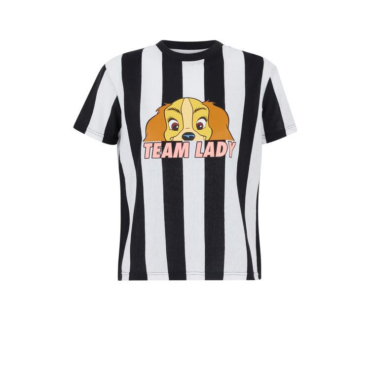 Camiseta de manga corta a rayas Teamladiz;