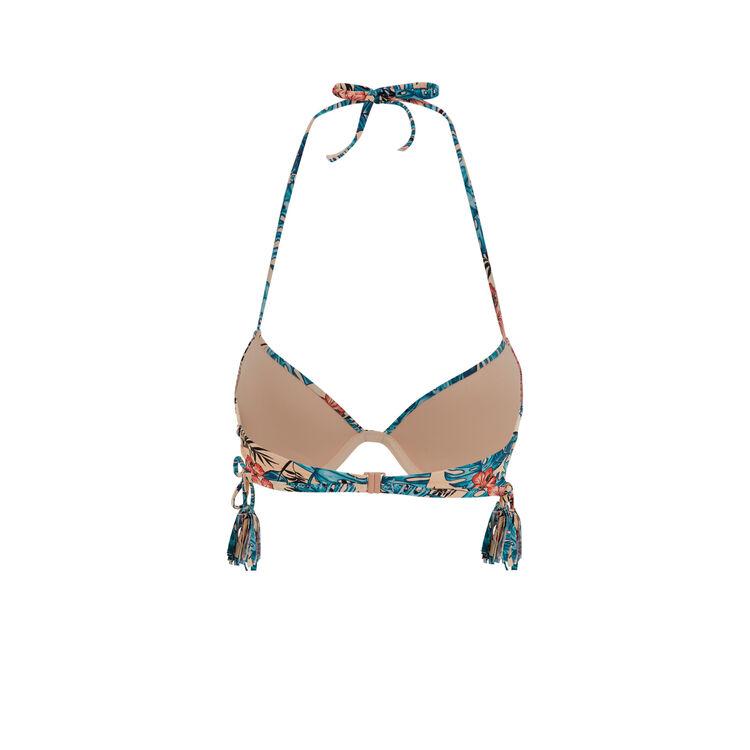 Parte de arriba de bikini push-up albaricoque kalafatiz;