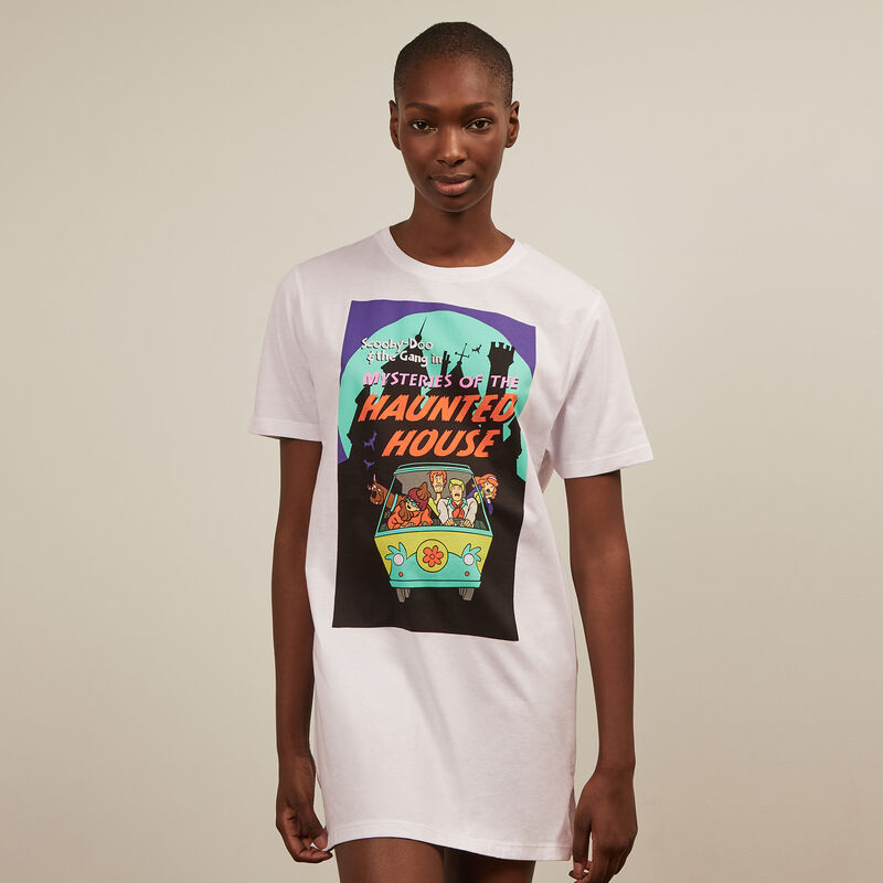 Camiseta larga con estampado de Scooby-Doo ;