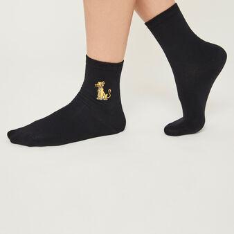 Calcetines negros lionkingiz black.