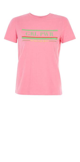 Top rosa flúor powergiz pink.