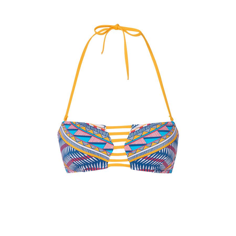 Parte de arriba de bikini multicolor miamiz aztiz;${refinementColor}