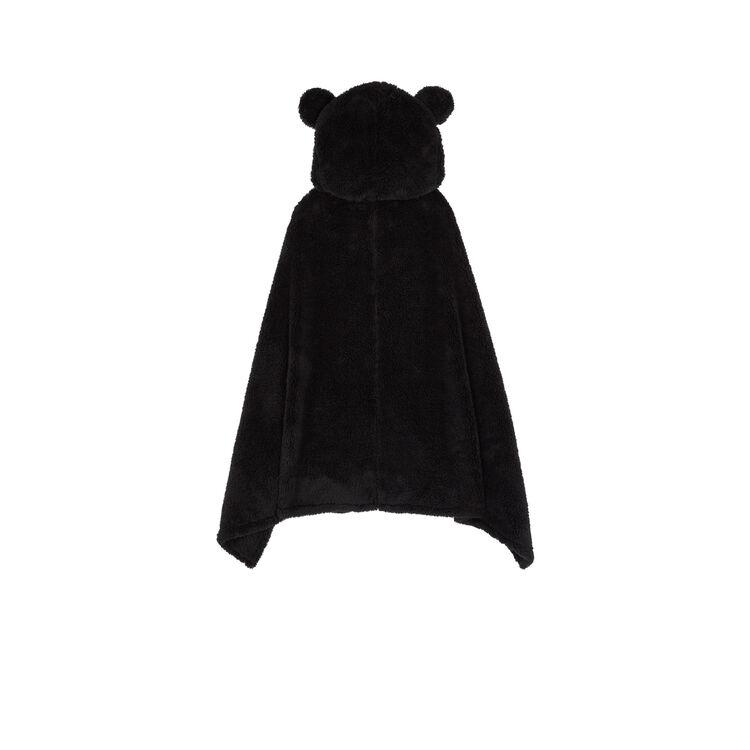 Poncho negro cutemiz;