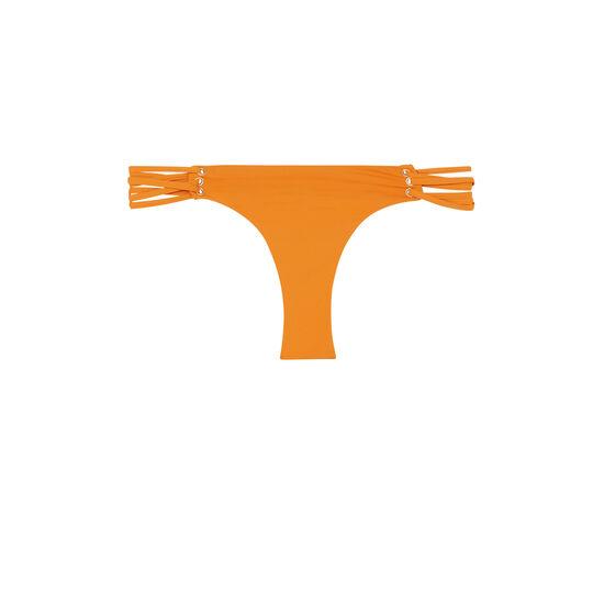 Parte de abajo de bañador naranja fusioniz;