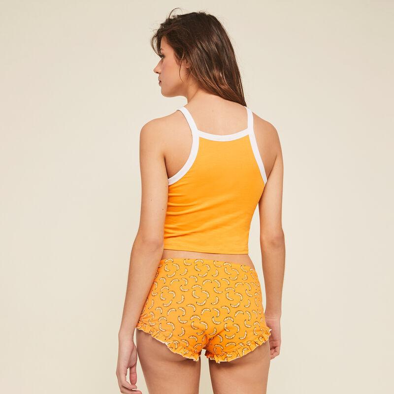 Shorts ocre burriquiniz;