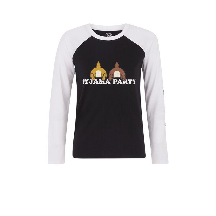 Camiseta de manga larga con estampado de Chip y Chop Chipdaliz;