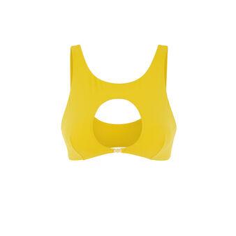 Top de bikini amarillo barockiz желтый.
