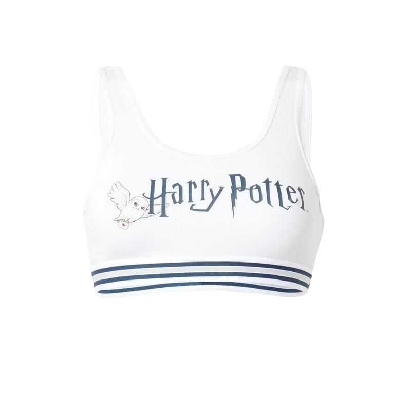 sujetador con estampado de Harry Potter - blanco;