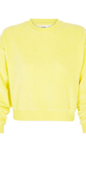 Sudadera amarilla chipitiz yellow.
