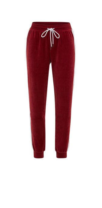 Pantalón rojo oscuro anoeliz biking red.