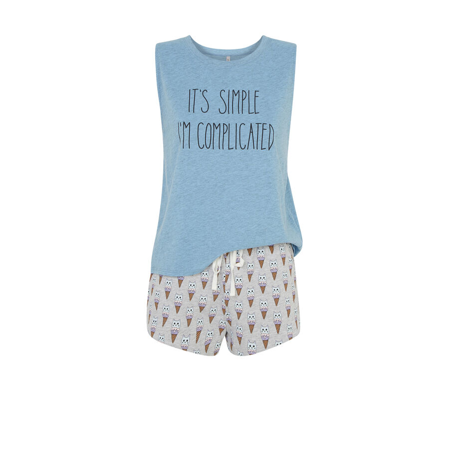 Conjunto de pijama azul icecatiz;${refinementColor}