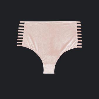 Braguita alta rosa claro velouriz pink.