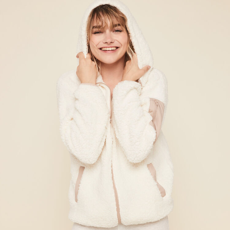 Veste polaire à capuche borgiz;