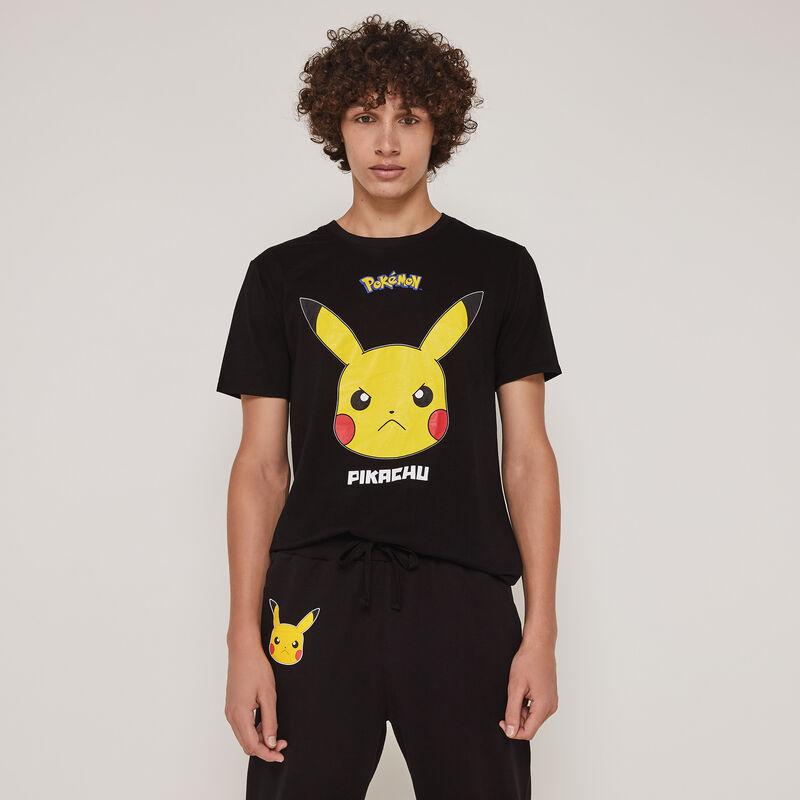 Top de manga corta con estampado Pikachu pickabatiz;
