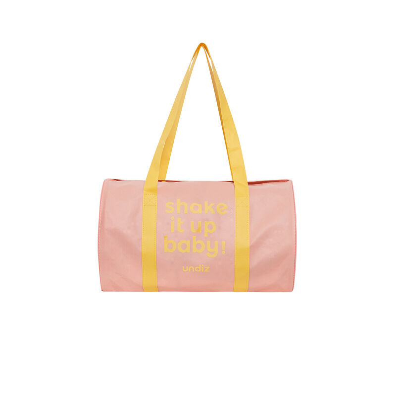 bowling bag grande - rosa;