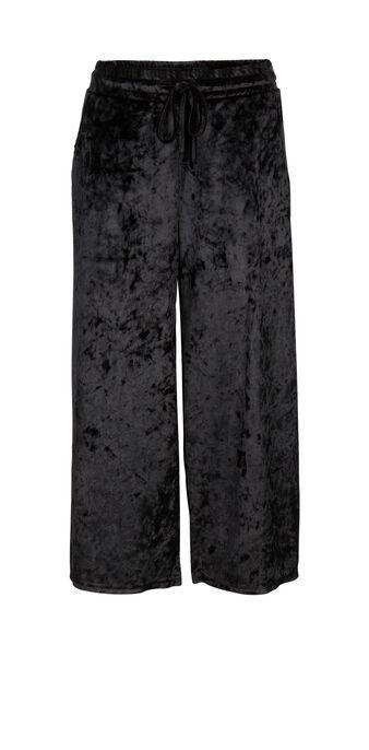 Pantalón negro mickaeliz black.