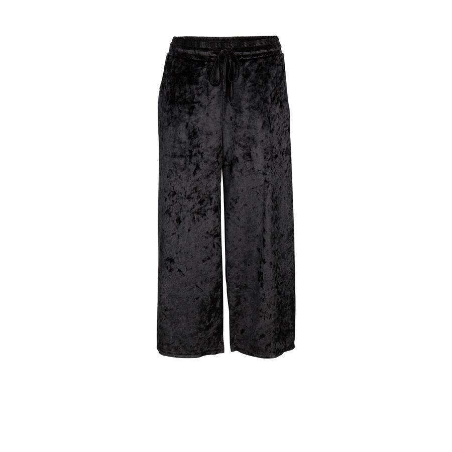 Pantalón negro mickaeliz;${refinementColor}
