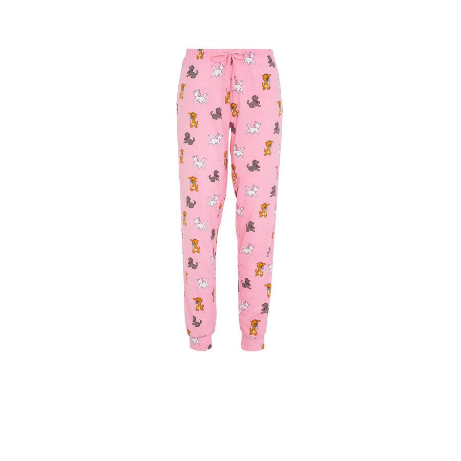 Pantalón largo rosa mariziz;