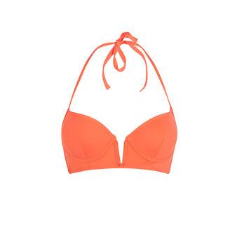 Top de bikini naranja con push-up creoliz oranje.