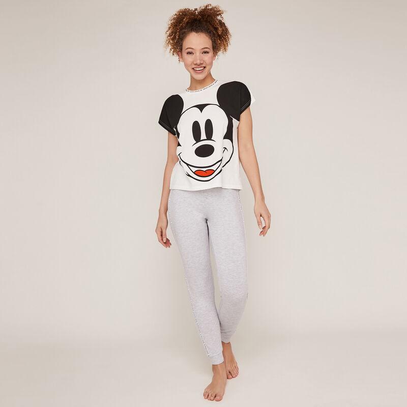Top de manga corta de Mickey - crudo;