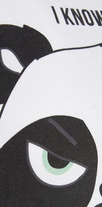 Top blanco pandacutiz white.