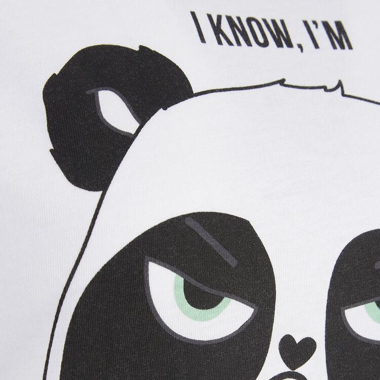 Top blanco pandacutiz;