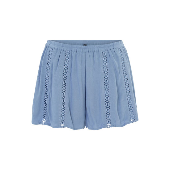 Short azul y gris lilopopiz;