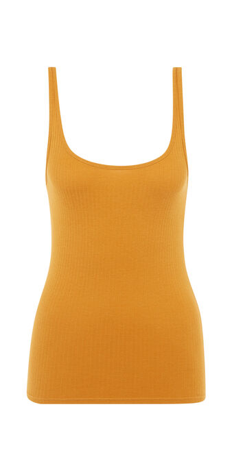 Top amarillo mostaza debidiz yellow.
