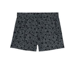 bóxer Keith Haring - negro