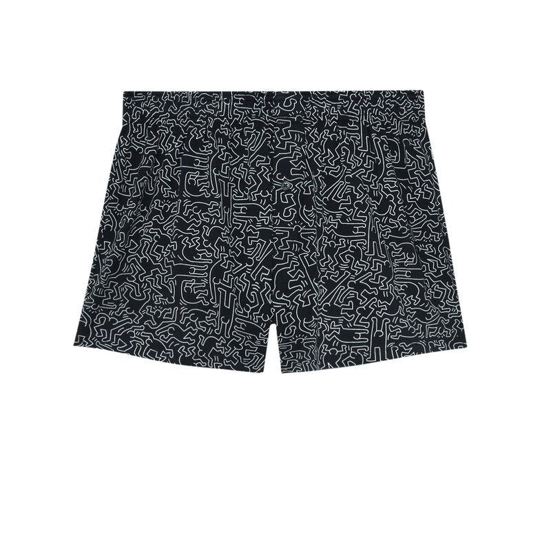 bóxer Keith Haring - negro;