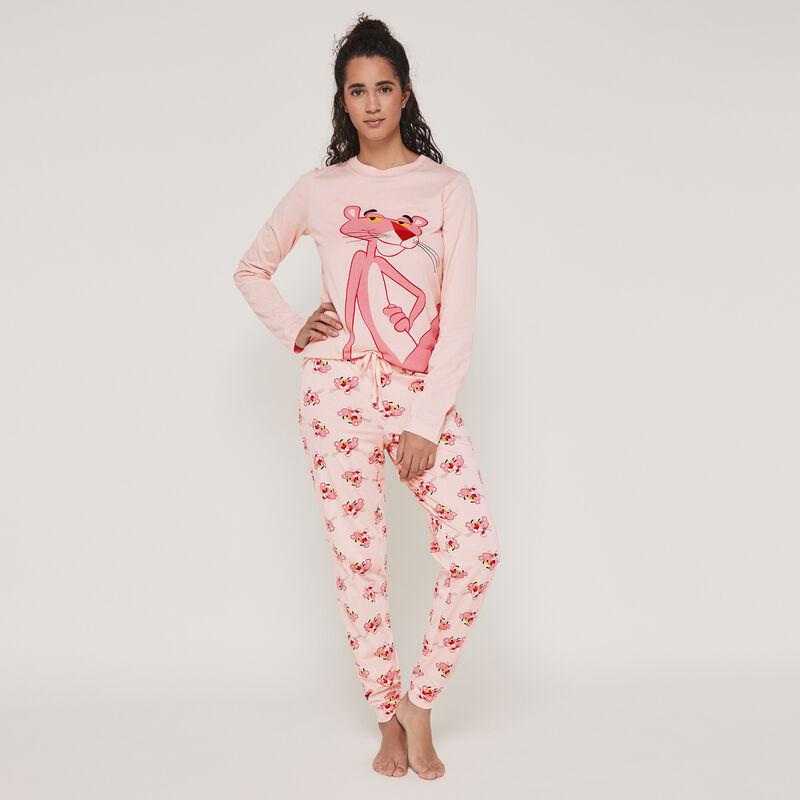 Conjunto de pijama top + pantalón La pantera rosa interpantheriz;