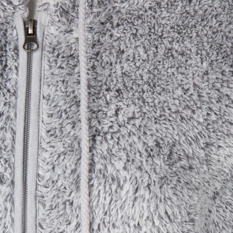 Chaqueta gris polairiz;